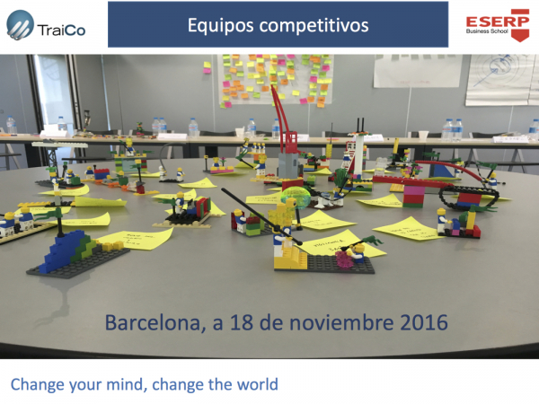 "Workshop ""EQUIPOS COMPETITIVOS"" – 18/11/16"