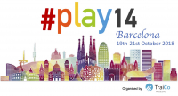 #play14 Barcelona - 19th to 21st October 2018